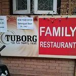 try this place. its just few steps away. friendly people and very delicious food with local pric