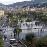 autumn in the center of Nice