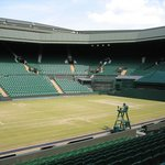 Centre Court 7 days after Andy Murray's win...