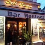 Café Chappe, Haupteingang
