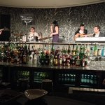 jazz bar with live music ...behind the bar :)