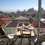 Frühstück über Kapstadt