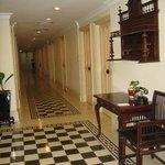 couloir de la chambre