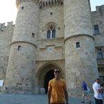 Palácio do Grão Mestre na cidade medieval