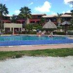 foto dalla piscina del la maya