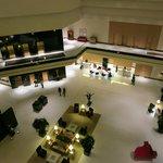 Modern stylish lobby reception area
