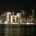 Pictures from Treasure Island at night!