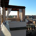 terrasse avec vue à 360°