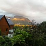 View of Ben Nevis from Treetops.