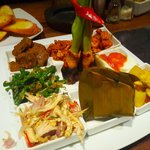 Indonesian Sharing Plate