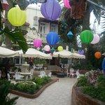 Outside Plaza Corniche Bar