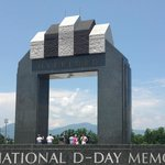 The huge and highly symbolic D-Day arch
