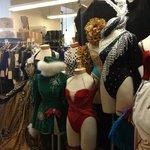 The Rockettes' costume shop!