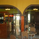 interior de  restaurant