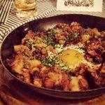 Uova con speck beef e patate