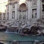 trevi fountain, early morning (before the tourist hoardes)!