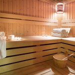 Our large sauna