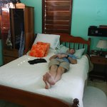 Bed in Seaview Room II (husband not included)