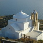 Igreja em Plaka - Ilha de Milos