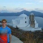 Pôr do sol em Plaka - Ilha de Milos