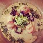 Scallops and Black Pudding Starter
