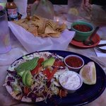 Fish Tacos and Chips/Salsa
