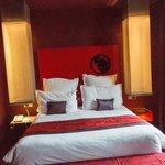 Bett im Executive Zimmer