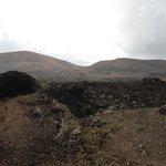 Path going to caldera blanca