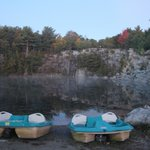 Somes Sound View - Quarry & paddle boats