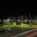 Panorama dalla camera sul porto
