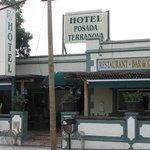 Hotel mit Restaurant-Terrasse