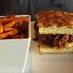 Brisket sandwich- so good!