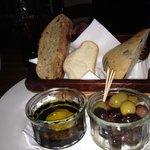 Appetising Bread & Olives starter