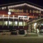 Ybrigerhof at night