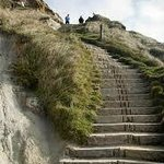 The steps to Durdle Door View