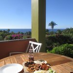 Lunch on the patio of La Palma