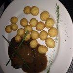 Mignon com batata sote