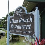 Hana Ranch Restaurant Sign