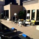 Hotel Top floor terrace