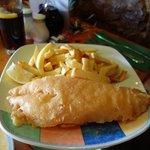 medium cod & chips