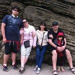 Con los amigos-familia