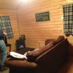 Living room of Cabin 15