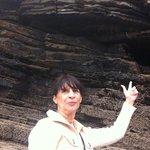 Las formaciones rocosas de equisto