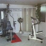 area fitness con doccia