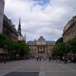 Palais de Justice from a distance