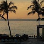 sunset at the Samba