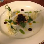Goats cheese (most disappointing of restaurant menu)