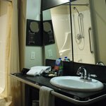 Room 214 - Accessible bathroom