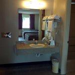 Granite Vanities in all Rooms