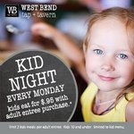 Kid Night every Monday at the WB